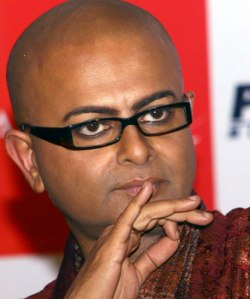 The great Bengali director Rituparno Ghosh who recently sadly died due to a cardiac arrest.