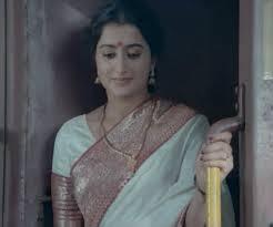 "The beautiful Sumalatha as the enigmatic Clara in the Padmarajan classic ""Thoovanathumbikal""."